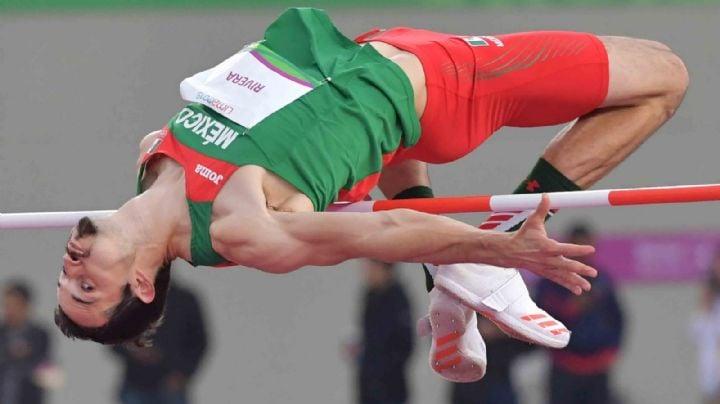 El sonorense Édgar Rivera rompe récord para México en la prueba de salto