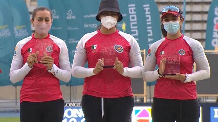 Equipo femenil mexicano de tiro con arco clasifica a los Juegos Olímpicos de Tokio