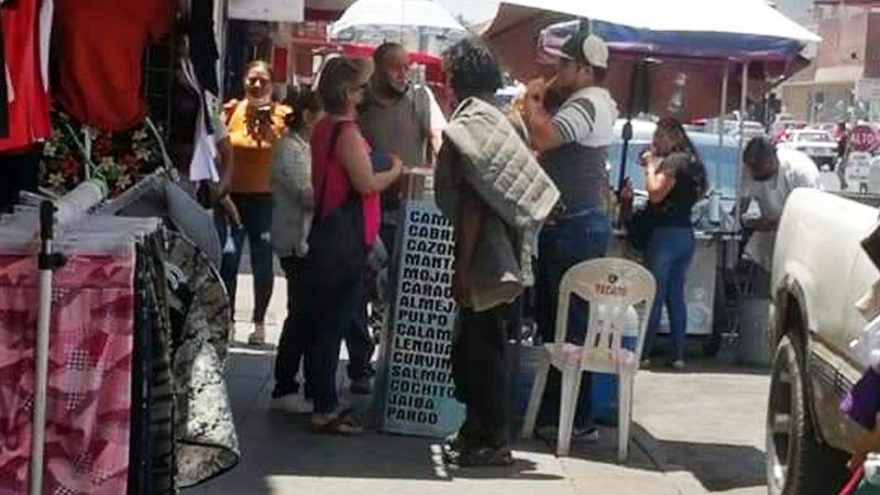 Indigentes en tiempo de calor, una problemática de nunca acabar en el Puerto de Guaymas