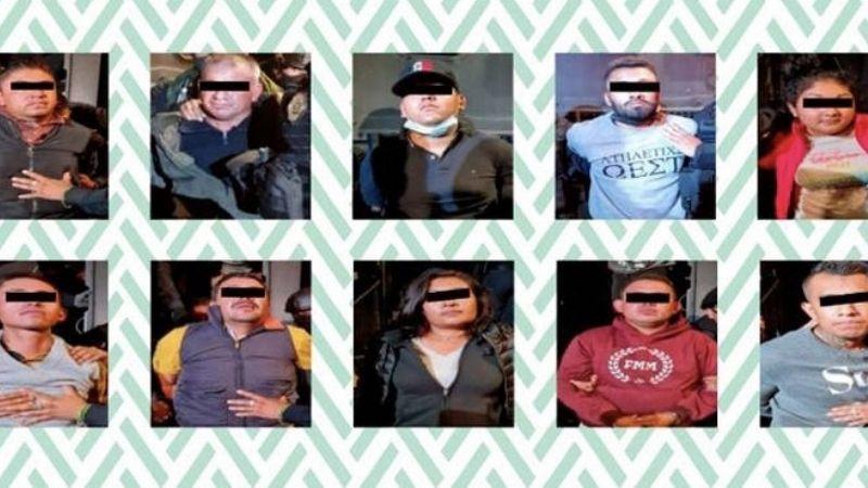 Detienen a 14 personas con armas y droga tras persecución policiaca en la CDMX