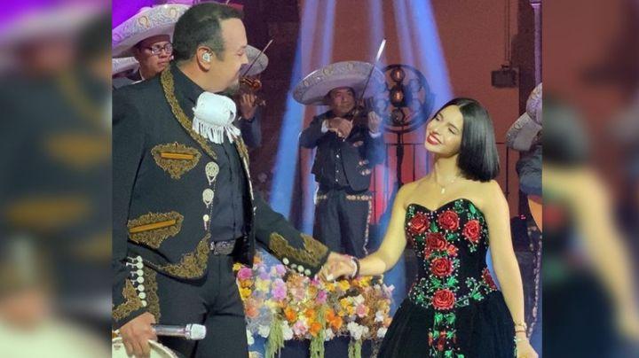 Ángela Aguilar da mensaje a Pepe Aguilar ¿con recuerdo de su regaño por el Himno?
