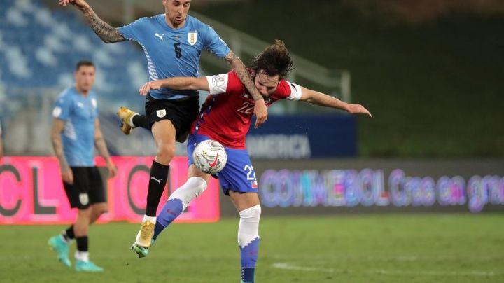 Uruguay rescata el empate ante Chile en la Copa América