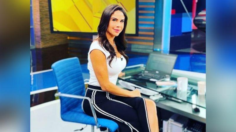 """Paola Rojas enloquece a Instagram al lucir su vestido más coqueto en Televisa: """"Qué nivel de mujer"""""""