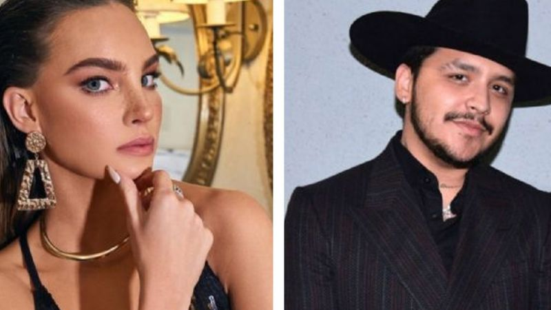 VIDEO: ¿No se toleran? Belinda exhibe en Instagram cómo se lleva Christian Nodal con su suegro