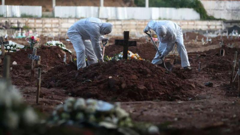 Tragedia en Brasil: Supera las 500 mil muertes por Covid-19; estiman que serían más