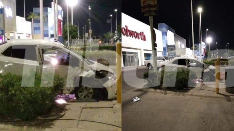 Tragedia: Tras colisionar con poste, piloto muere en Ciudad Obregón; iba a máxima velocidad