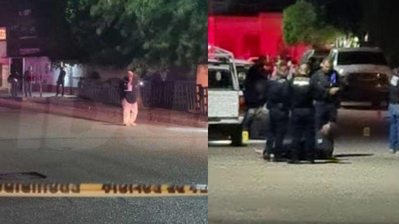 """""""¿Y si fuera tu hijo?"""": Policías someten y detienen a padre que intentó ver a su hijo asesinado en Cajeme"""