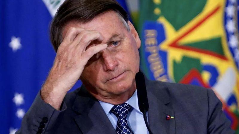 VIDEO: Así reaccionó Bolsonaro tras ser cuestionado por las 500 mil muertes por Covid-19 en Brasil