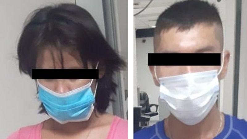 Arrestan a joven pareja en Ciudad Obregón; le descubrieron droga y un arma de fuego