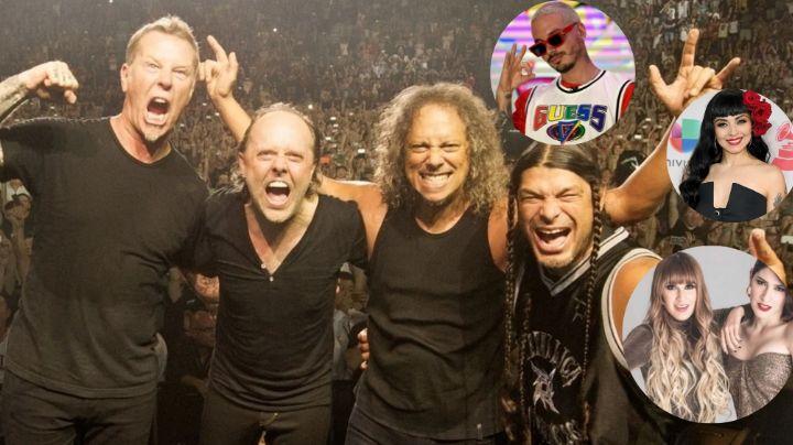 ¿Cantarán en español? Ellos son los artistas latinos que acompañarán a Metallica en su 'Black Album'