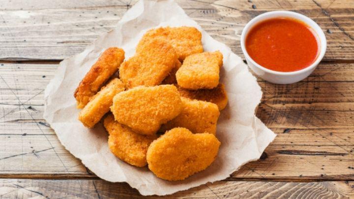 ¿Nuggets sin pollo? Sí, es posible y su delicioso sabor te sorprende a cada bocado