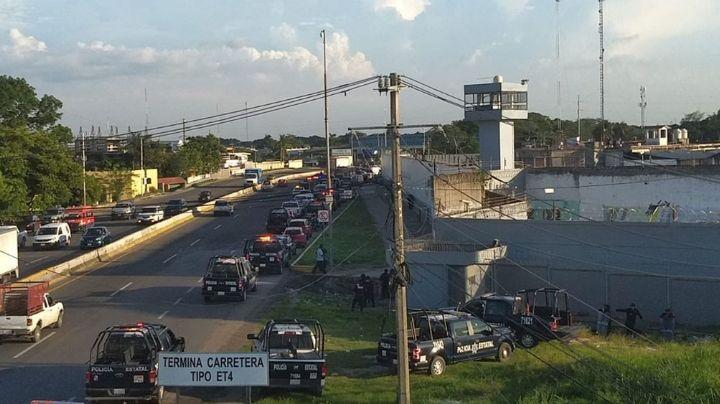 Riña entre reos de penal en Tabasco deja como saldo seis muertos y nueve lesionados