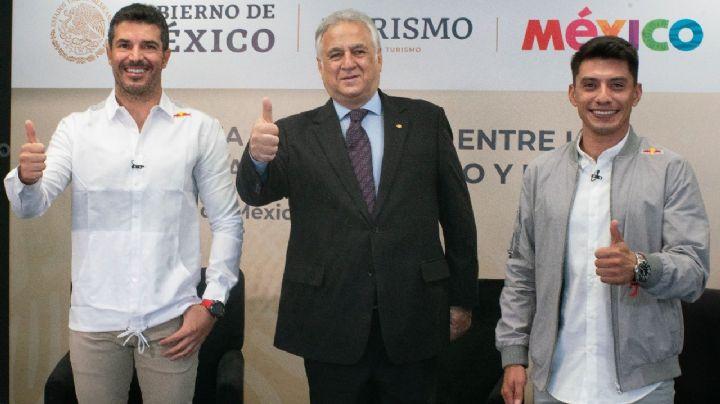 'Checo' Pérez y RedBull firman alianza con Sectur para promover destinos turísticos en México