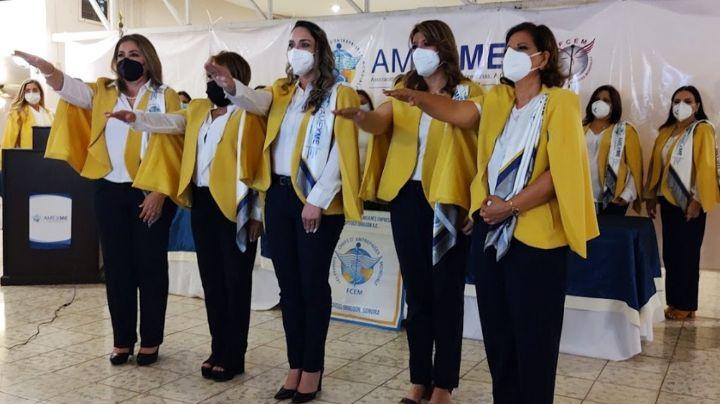 Amexme Capítulo Ciudad Obregón, toma protesta al nuevo Consejo Directivo 2021- 2024