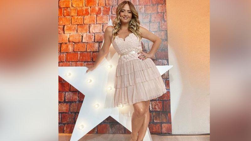 Andrea Legarreta impresiona a Televisa al posar coqueta para Instagram