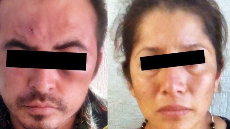 Capturan a pareja prófuga en Sonora; cometieron un brutal asesinato en el Estado de México