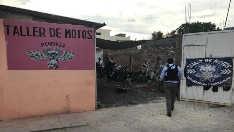 FUERTES IMÁGENES: Masacre en taller deja 7 hombres muertos; sicarios los acribillaron con AK-47