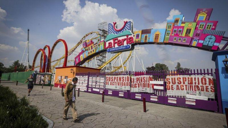 Detienen a 14 personas que allanaron las instalaciones de la Feria de Chapultepec en la CDMX