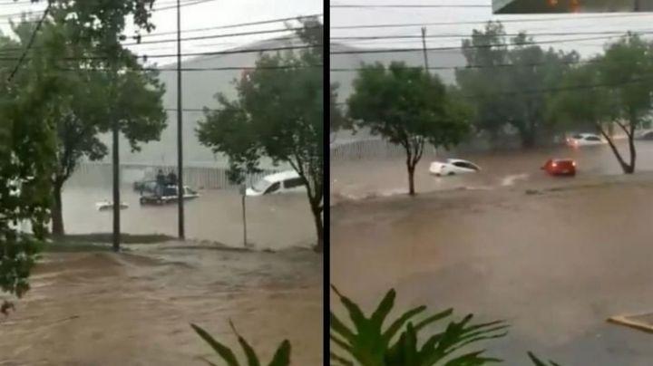 FOTOS: ¡Brutal! Pobladores de Edomex quedan atrapados tras fuertes lluvias e inundaciones