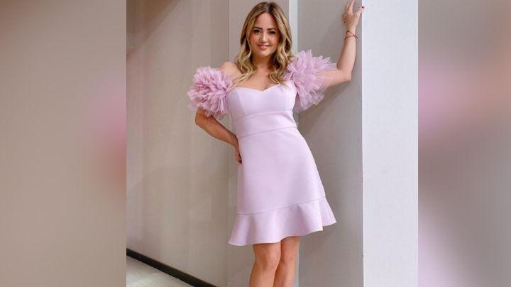 Andrea Legarreta enloquece Televisa al posar en elegante vestido desde 'Hoy'