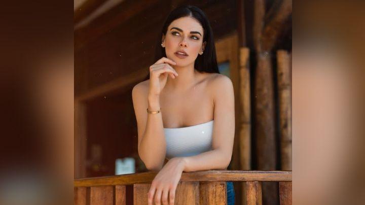 Livia Brito cautiva Televisa la lucirse en coqueto atuendo blanco