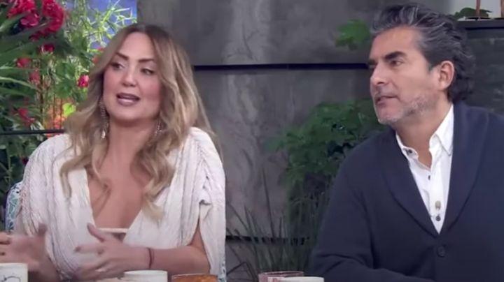 Andrea Legarreta 'explota' en 'Hoy' y defiende a Erik Rubín tras FOTOS al lado de guapa influencer