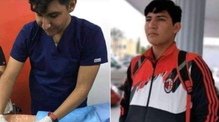 Él es Fernando, enfermero de 19 años ejecutado en masacre del narco; sicarios dieron 180 balazos