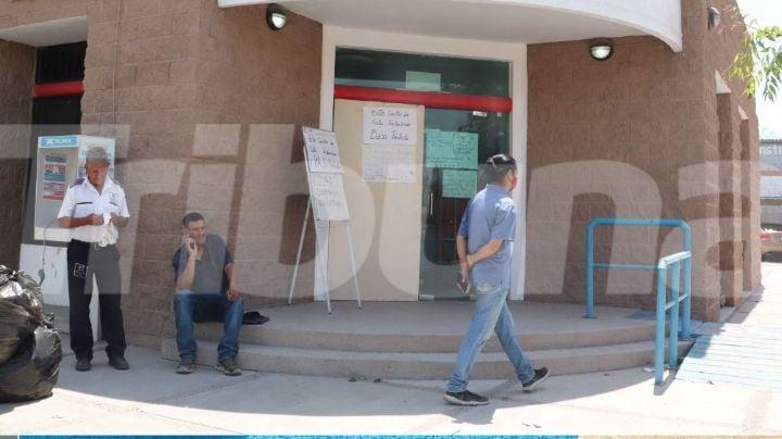 Ciudad Obregón: Empleados del Centro de Salud Sur trabajan bajo protesta
