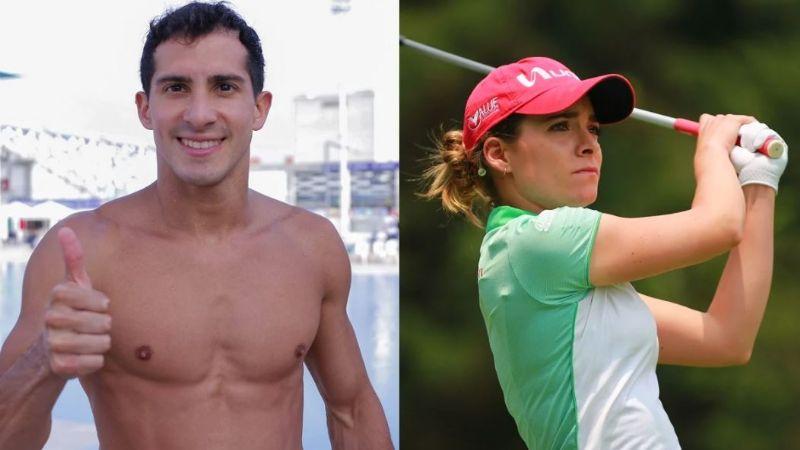 ¡Los elegidos! Rommel Pacheco y Gaby López serán abanderados de México para JO