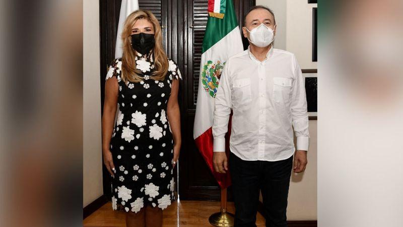 Sonora: A pocos meses de la entrega-recepción, Claudia Pavlovich se reúne con Alfonso Durazo