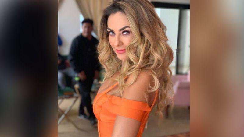 """Aracely Arámbula se luce desde el set de 'MasterChef' y conquista Instagram: """"Lo que dejó ir Luismi"""""""
