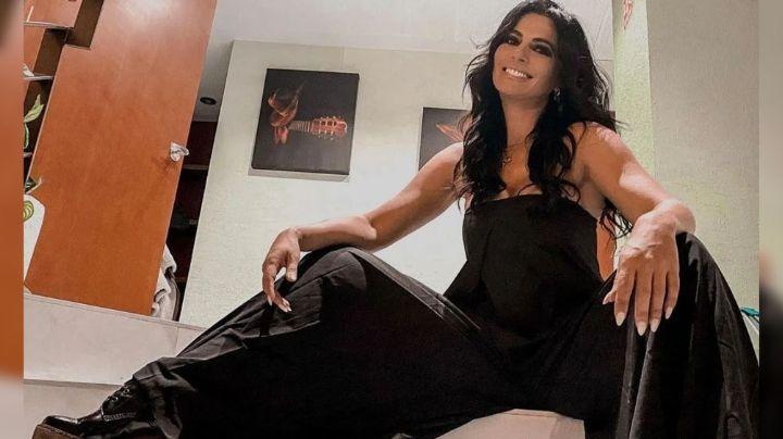 ¡A lo Maribel Guardia! Cecilia Galliano modela ajustado vestido en FOTO de redes