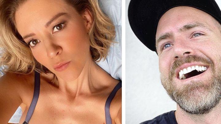 Fernanda Castillo revela FOTO de íntimo momento con Erik Hayser y así reacciona el actor