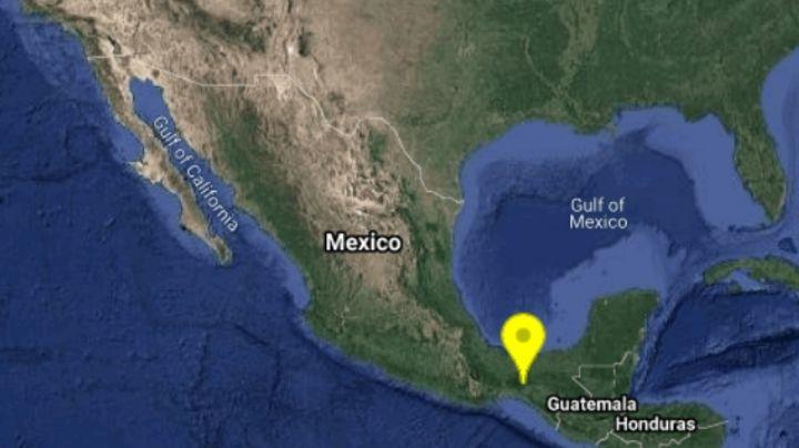 ¡Atención! Sismo azota a Chiapas; su magnitud fue de 4.3 en el noroeste de Cintapala