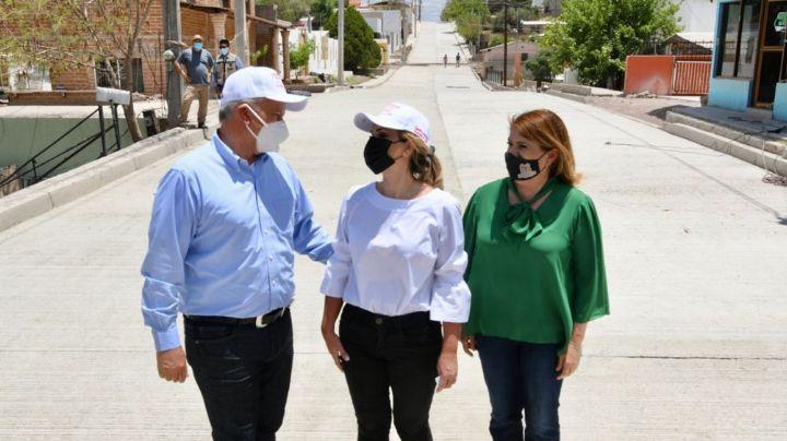 Sonora: Con obras de pavimentación y alcantarillado, Claudia Pavlovich beneficia a Magdalena y Santa Ana