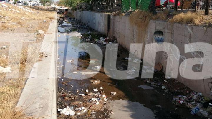 Basura en canales pone riesgo a Hermosillo ante inundaciones; habría taponamientos en alcantarillas