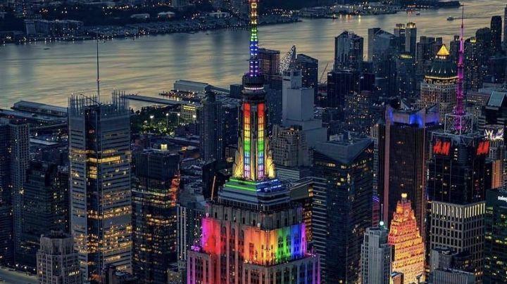 Edificios emblemáticos de Nueva York iluminarán con luces bandera LGBT+