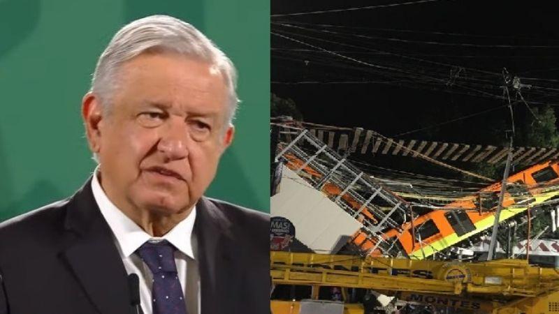 AMLO anuncia cuándo estará reparada la Línea 12 del Metro, más no da nombres de culpables