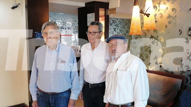 Cuauhtémoc Cárdenas visita Cajeme y brinda su apoyo a las familias de Tomás Rojo y Luis Urbano