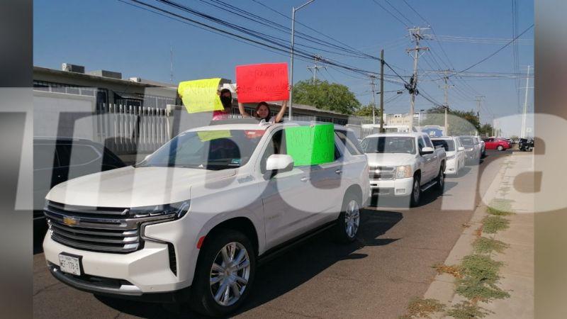 Hermosillo: Movimiento 'Abre mi Escuela' realiza caravana para exigir la reapertura de los planteles