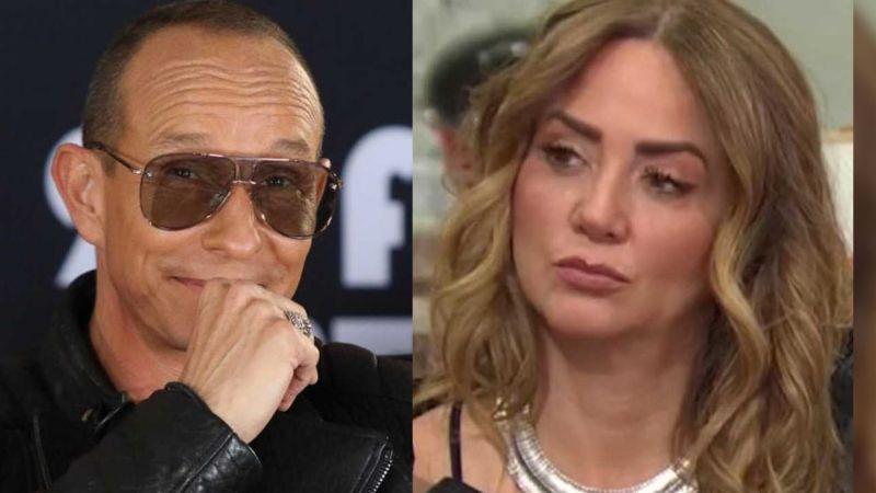 """""""Te calmas"""": La impactante advertencia de Erik Rubín a Andrea Legarreta tras rumores de infidelidad"""