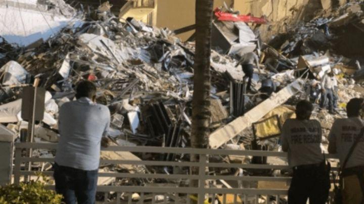 Incrementan a 4 los muertos tras la caída de un edificio de 12 pisos en Miami