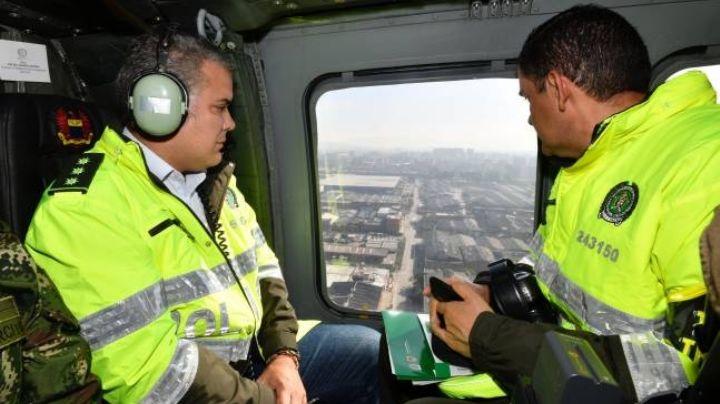 Atacan con armas de fuego helicóptero donde viajaba el presidente Iván Duque
