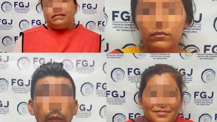 Detienen a 4 integrantes del Cártel del Noreste involucrados en atentado contra fiscal de Tamaulipas