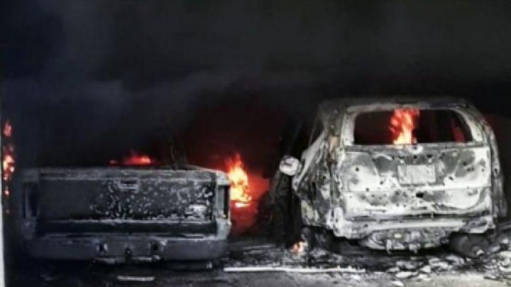 FUERTE VIDEO: Así fue la brutal masacre del narco que dejó 18 muertos; calcinaron cadáveres