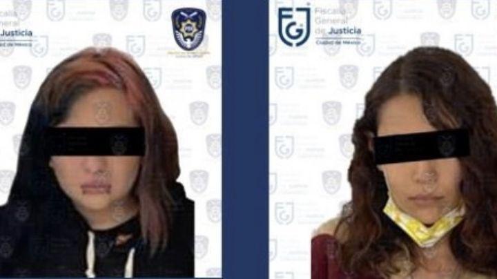 Detienen a dos mujeres que vendían droga cerca del Senado en la Ciudad de México