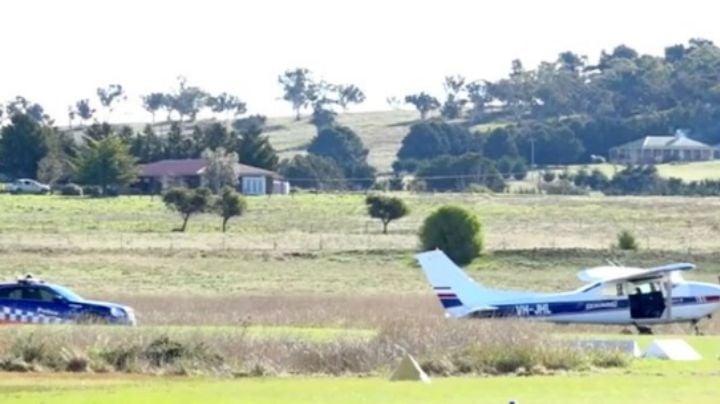"""Pierden la vida 2 paracaidistas en Australia por un """"problema"""" en el avión"""