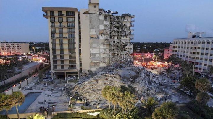 Tragedia: Confirman 9 decesos tras derrumbe en Miami; aún hay más de 100 desaparecidos