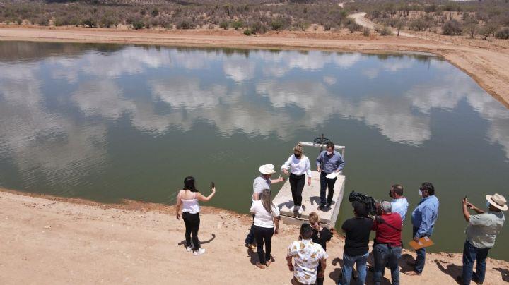 Gobernadora cumple a habitantes de Ímuris con Laguna de oxidación que mejorará el ambiente