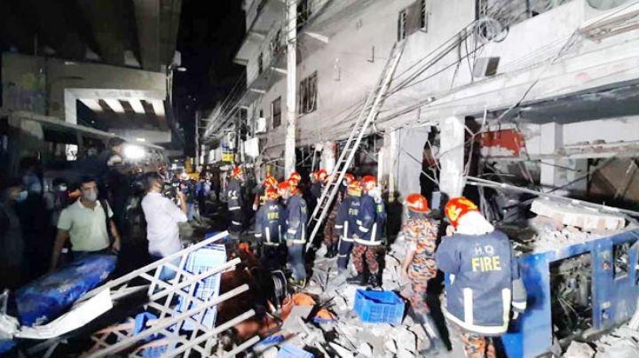 Explosión en un edificio de Bangladesh deja al menos 7 muertos y 70 heridos
